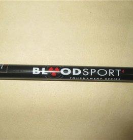 bloodsport Bloodsport Tournament Elite 4 Carbon Arrow Shaft Pack of 12