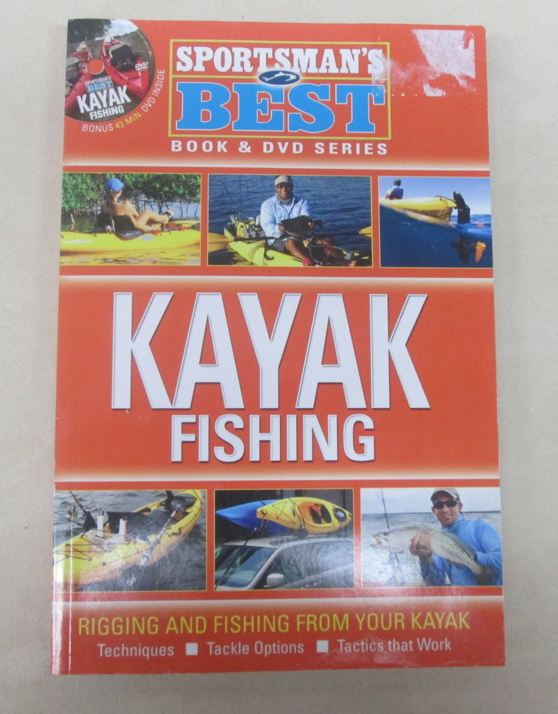 Intermedia Outdoors Sportsman's Best Kayak Fishing Informational Book and DVD