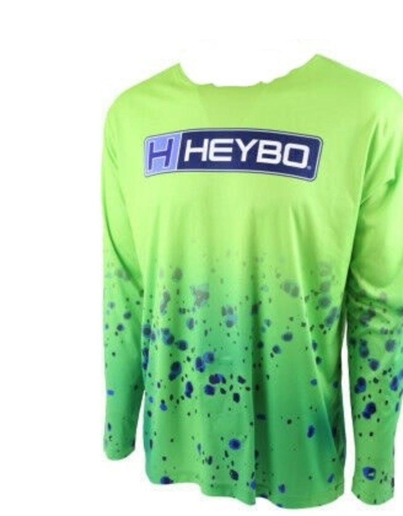 Heybo Outdoors HEYBO MEN'S HOODLESS PERFORMANCE XXXLARGE DORADOFLAGE LIME GREEN