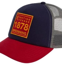 Browning BROWNING CAP, Foam Trucker Patch