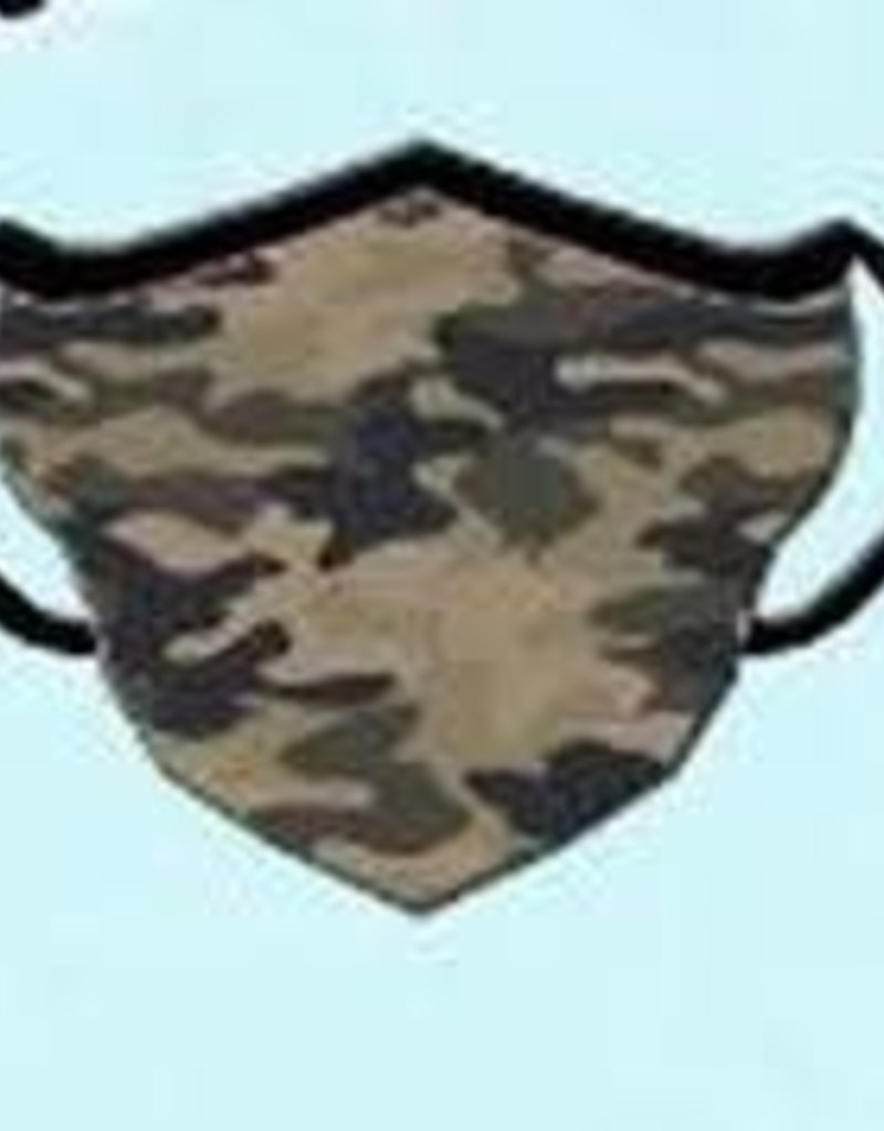 Girlie Girl FASHION MASKS ONE SIZE W/FILTER CAMO