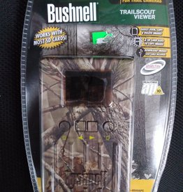 BUSHNELL OUTDOOR ACCESSORIES Bushnell trail scout viewer camo OPEN PACKAGE