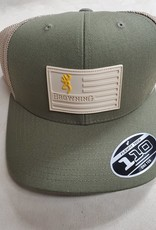 Browning Browning CAP RECON FLAG, Olive
