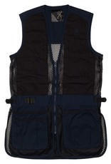 Browning BROWNING JUNIOR TRAPPER CREEK MESH SHOOTING VEST-NAVY/BLACK