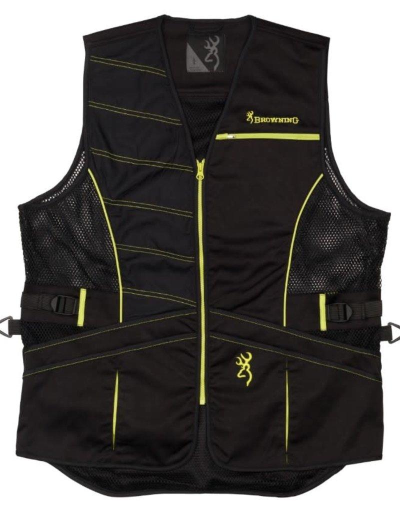 Browning Browning Ace Shooting Vest Black/Volt Med