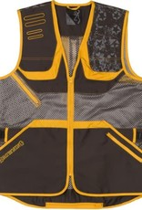 Browning MEN'S TEAM BROWNING VEST LARGE/GRY/YELLOW