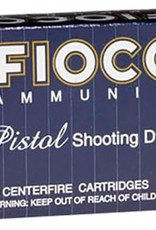 Fiocchi Ammunition Fiocchi Shooting Dynamics Ammunition 9x21mm 123 Grain Full Metal Jacket Truncated Cone