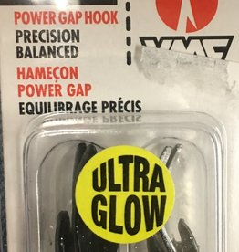 VMC Corporation VMC NYMPH Ultra Glow Jig #6 Glow  Shiner