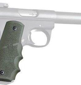 Hogue Inc. HOGUE GRIP RUGER Mark III 22/45 RP RUB OD GREEN