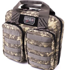 GS Outdoors GPS  DOUBLE PISTOL CASE DIGITAL CAMO T1410PCD