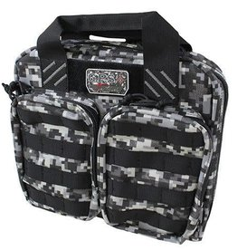 GS Outdoors G.P.S. Double +2 MOLLE 4 Handgun Pistol Case w/Visual ID Storage