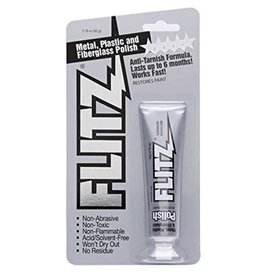 FLITZ PRODUCTS Flitz Polish Paste Anti-Tarnish Formula 1.76 oz. Squeeze Tube BP03511
