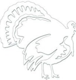Bones Outdoors Bones BEPL9102 Jumbo Turkey  Plotted Decal