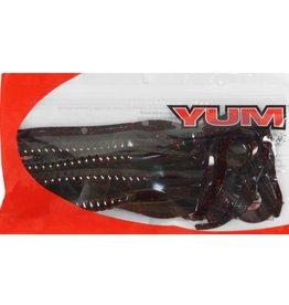 """Yum YUM Worm-Black Neon 8ct YRBT1001 10"""" Ribbontail"""