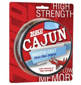 ZEBCO CORP. ZEBCO CAJUN SMOOTH CAST CLEAR BLUE BAYOU 8 LBS 330 YDS FISHING LINE
