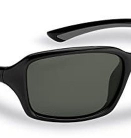 Flying Fisherman Flying Fisherman Black-Gray Smoke Sunglasses  7711BS Kili