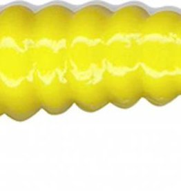 "Slider Charlie Brewer's 1.5"" Crappie Grubs CSG14 20 Pack Yellow Fishing Lure"