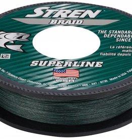 Stren STREN BRAID SUPERLINE 65 LBS 150 YDS LO-VIS GREEN FISHING LINE