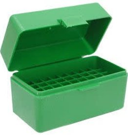 MTM MOLDED PRODUCTS MTM SMALL RIFLE 50RD AMMO BOX