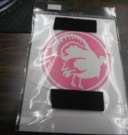 AGI Pink Turkey Decal for Tumblers or Windows YP9102R