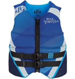 Full Throttle FULL THROTTLE - 142400-500-040-15 - FTHR VEST NEO FLEX ZONE BLUE LARGE
