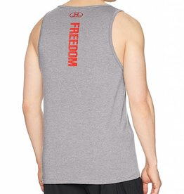 Under Armour Under Armour Men's Freedom Eagle Tank Grey Size Large