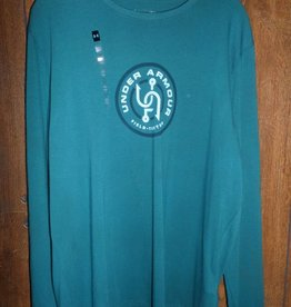 Under Armour UNDER ARMOUR TEAL FIELD TESTED LONG SLEEVE SIZE LARGE SHIRT