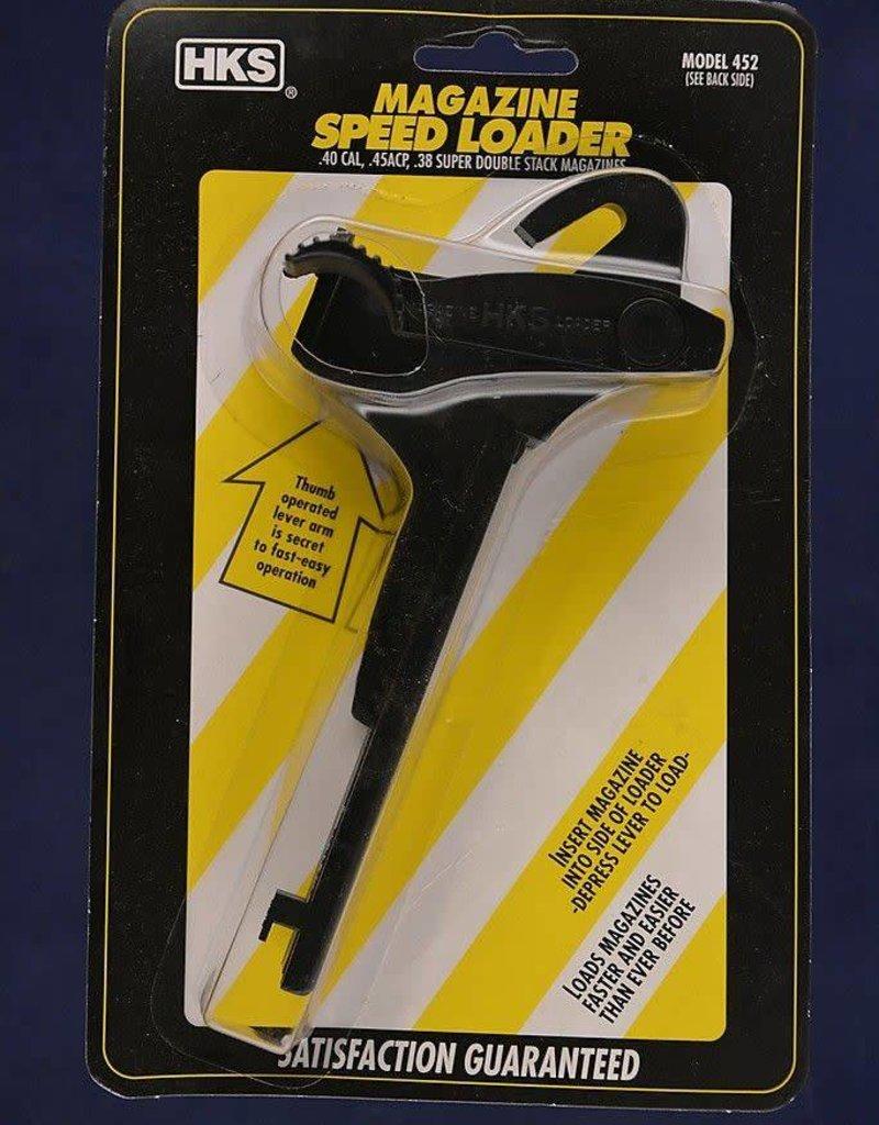 HKS HKS 452 Magazine Speed Loader ADJUSTABLE New In Package HKS-452