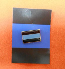 Unbranded Thin Blue Line Lapel/Tie Tack Hat Pin TBL Pin