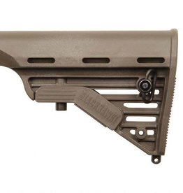 BLACKHAWK PRODUCTS BLACKHAWK! Knoxx Replacement Adjustable Carbine Rifle Buttstock AR-15/M4 Commercial Polymer OD K11011-C