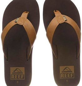 Reef MEN'S REEF FLIP FLOPS BROWN 12 TWINPIN RF002915