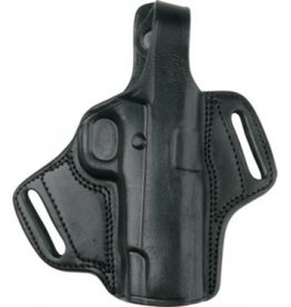 BULLDOG CASES BullDog Cases MOLD Deluxe Holster Leather- black-small