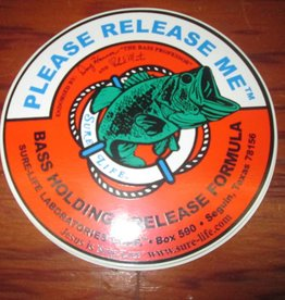 Unbranded Sure Life Please Release Me Bass Sticker