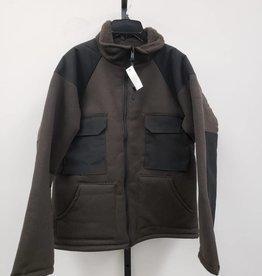 Military Uniform Supply Men's Military Uniform Supply Brown/Black Heavy Jacket Size XS
