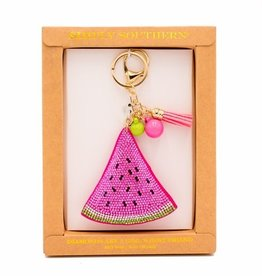 Simply Southern SIMPLY SOUTHERN KEY FOB/CHAIN WATERMELON