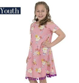 Simply Southern SIMPLY SOUTHERN SP18-04 WILD SMALL YOUTH DRESS