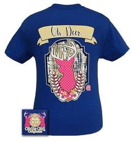 Girlie Girl Girlie Girl Oh Deer Women's Short Sleeve Tshirt Size XXLarge