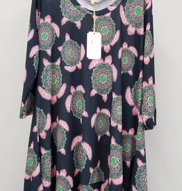 Simply Southern SIMPLY SOUTHERN TUNIC WITH TURTLES SIZE SMALL