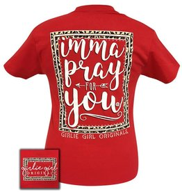 Girlie Girl Girlie Girl Pray For You Women's XLarge