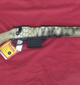 Howa Howa Mini Action 223 HB bolt action rifle in Highlander Camo. 20 inch barrel.