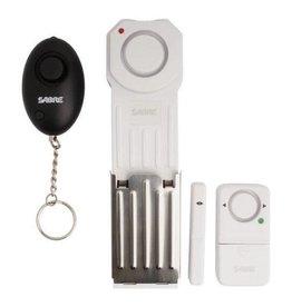 SABRE - SECURITY EQUIPMENT SABRE Dorm/Apartment Personal Alarm Kit 120 dB Alarm White Plastic HSDAK