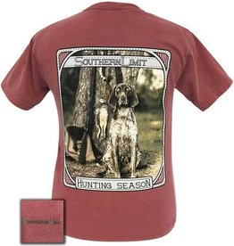 Girlie Girl SOUTHERN LIMIT HUNTING SEASON BURGANDY SHIRT SIZE XL