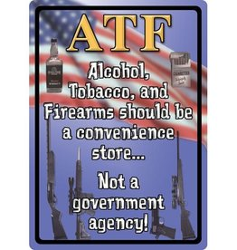 "Rivers Edge Products ATF 12"" x 17"" Tin Sign"