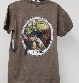 Heybo Outdoors Heybo Short Sleeve Gobbler T-Shirt Size Medium HEY1220