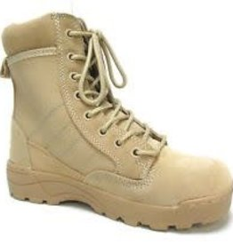Military Uniform Supply MILITARY UNIFORM SUPPLY TAN/DESERT BOOTS SIZE 10
