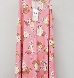 Simply Southern SIMPLY SOUTHERN SP18-05 WILD WOMEN'S MEDIUM DRESS