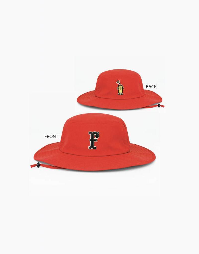 pacific headwear Manta Bucket Hat (Red)