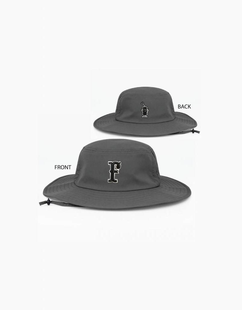 pacific headwear Manta Bucket Hat (Charcoal)