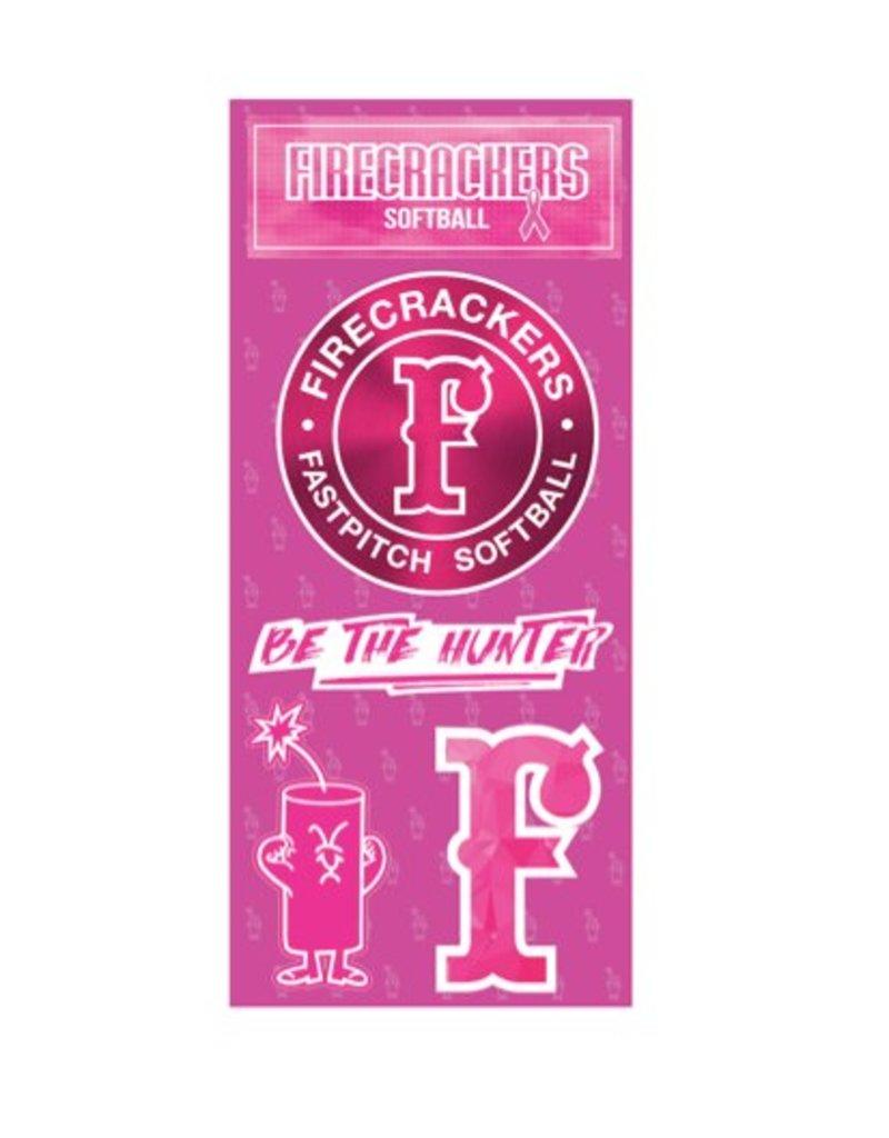 car stickers FC Sticker Sheet PINK