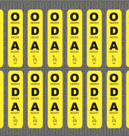 ODA Sticker Sheet YELLOW